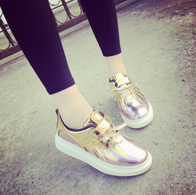 2016 Fashion Women Casual Flat Shoes Women's Spring Autumn Sequined Canvas Shoes For Women Loafers alpargatas Sapatos Femininos