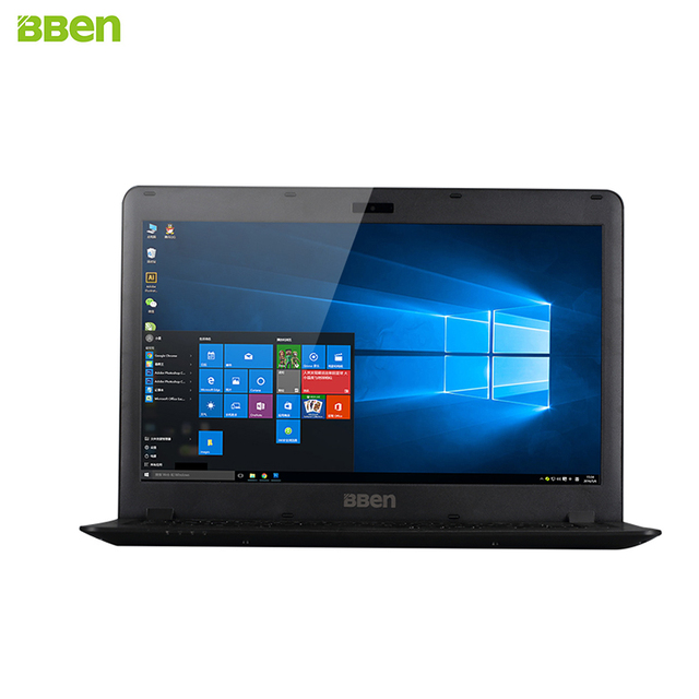 Bben 14.1inch Laptop Intel Celeron N2840 Quard Core CPU Windows10 USB2.0/3.0 4GB Ram 500G HDD HDMI Wifi BT4.0 Notebook Computer