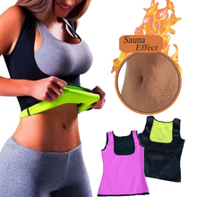 Hot Shaper Body Shapers Women Neoprene Slimming Cincher Sportswear Weight Loss Vest Underbust Waist Trainer Vest drop shipping