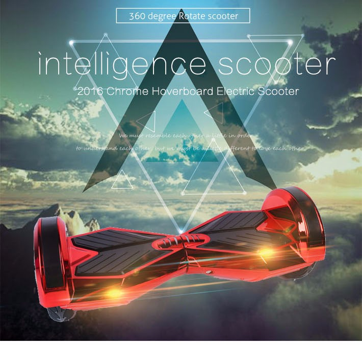 Self balancing Hoverboard or two wheels skateboards with Bluetooth and LED light for Adults 8