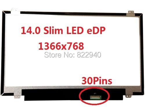 LCD Screen For Acer Aspire V3-471 431 V5-471 471G 473 M5-481 14.0 eDP HD Slim LED 30Pins
