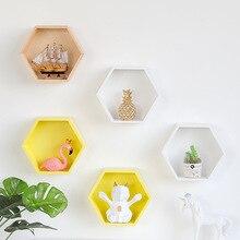 Decoración de pared nórdica, estante de almacenamiento, artículos diversos de madera Vintage, estante de almacenamiento, estantes de pared decorativos, Organizador, soporte de flores