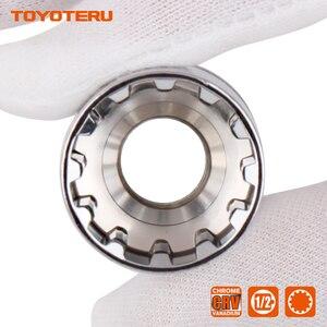 Image 4 - 10PCS Gear Lock Sockets Wrench Auto Repair Tool Hand Tool Set Socket Set 1/2 Inch Size 8mm 19mm