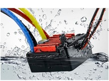 The newest QuicRun 60A 360A Waterproof Brushed Speed Controller ESC for RC 1/10 Car Crawler