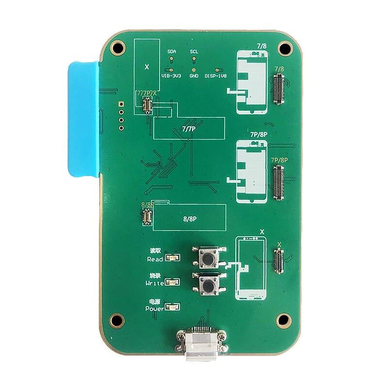 JC D8 Photosensitive Proximity Light Sensor Data Backup Read WRITE AND VIBRATION REPAIR MODULE FOR IPHONE 7/7PLUS/8/8 PLUS meeeno mn eb ptcmn photosensitive sensor module orange