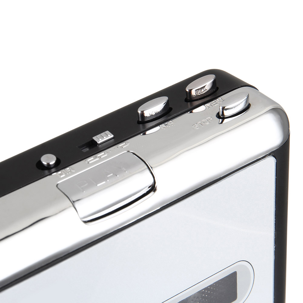 Newly Portable Cassette Tape to USB MP3 Converter Recorder Capture Music Player for Laptop PC