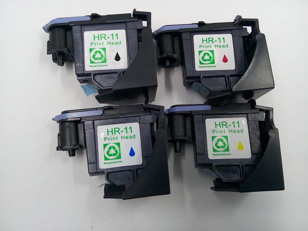 1 satz für hp-11 druckkopf wiederaufbereitung anzug für hp color inkjet cp1700...