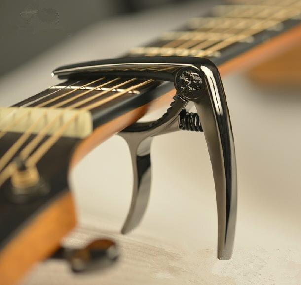 1 pièces instruments de musique violon ukulélé basse Folk classique guitare électrique Capo pince guitare pièces accessoires