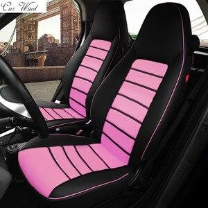 Image 3 - Автомобильные чехлы из пу кожи для Mercedes Benz Smart fortwo 2010 ~ 2017, чехлы для сидений Smart forfour, автомобильные аксессуары