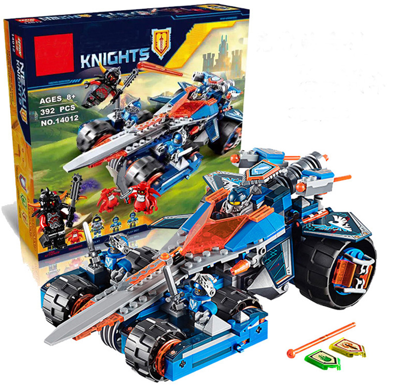 Lepine Knights Building Blocks Toy Set Clay's Rumble Blade Transformation Chariot Kids Toys Compatible With 70315 Nexus Knights rumble roses xx купить спб