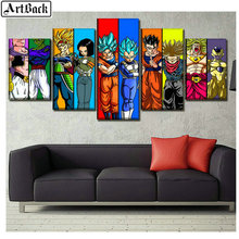 5 spell diamond painting cartoon anime Dragon Ball picture diy 5d full square drill embroidery for living room decor