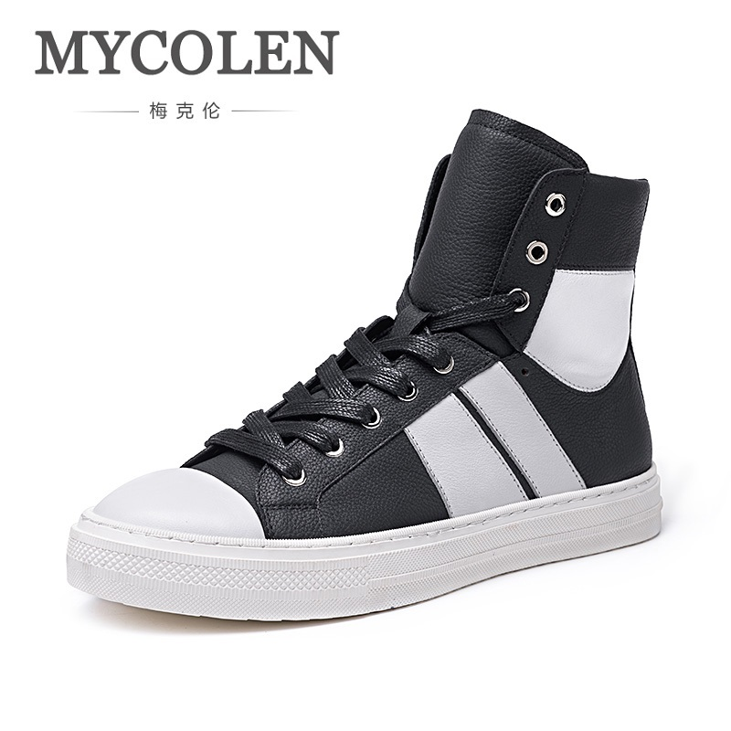 MYCOLEN Brand Men Shoes Leather Lace-Up Warm Fur Boot Vintage Design Italian Boots Casual Mens Winter Shoes Winter Fur Boots muhuisen winter men genuine leather shoes fashion casual plush warm boots lace up flats male snow boots fur inside comfort