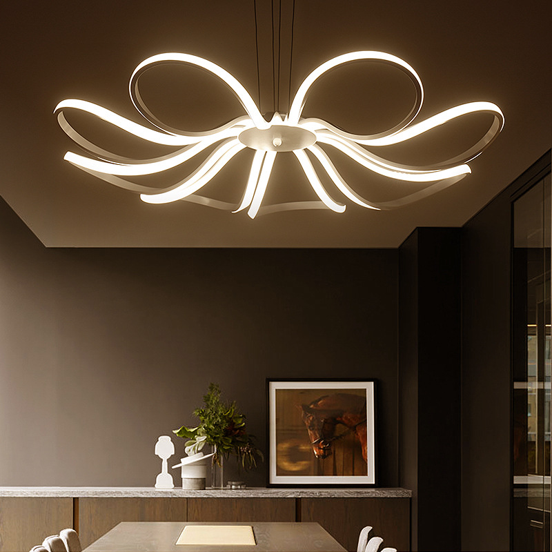 Led simple restaurant light Post modern bedroom lamp Personality ...