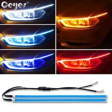 Ceyes Стайлинг автомобиля дневное время пласветильник светодиодные