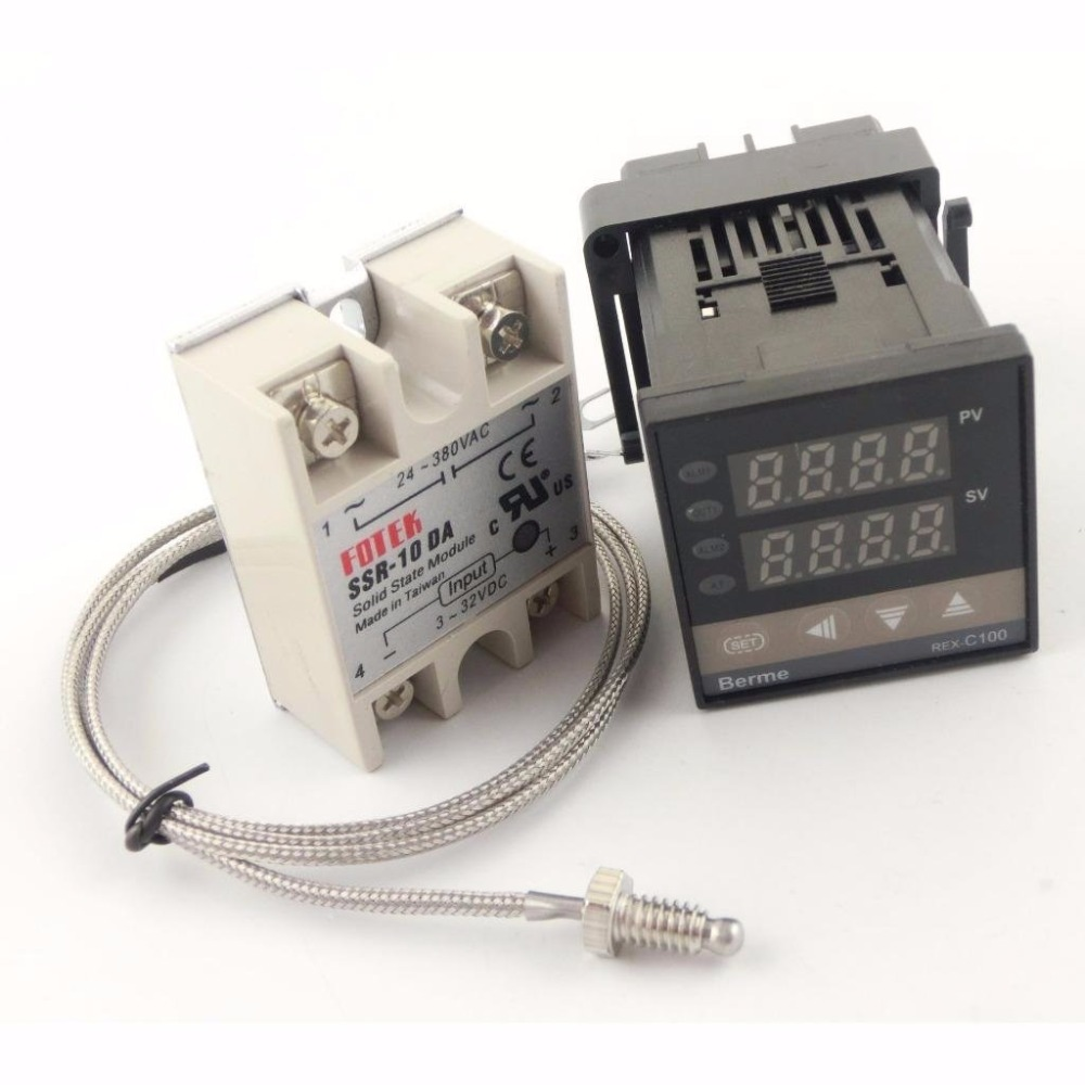 rex c100fk02 v um pid controlador de temperatura conjunto com 10da 25da 40da 50da 75da rele