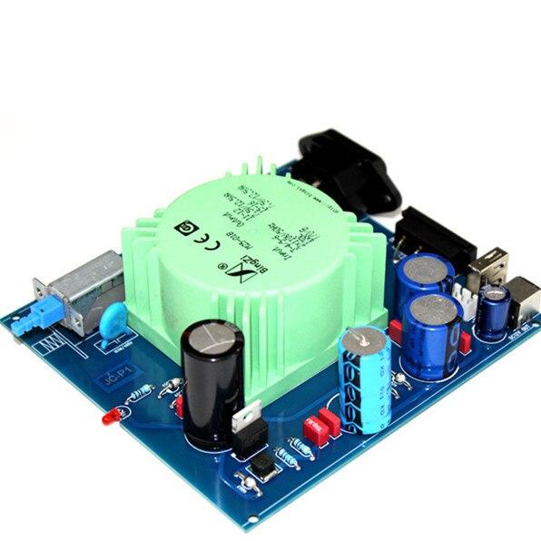DAC-X6 30AV DC12V/2.5A + USB 5 v/5A DC double sortie linéaire thermique alimentation régulateur de tension DAC XMOS Mobile téléphone alimentation