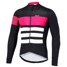 2017 Men's Autumn/Winter Thermal Fleece Long Sleeve Cycling Jersey Outdoor Sportswear Clothing MTB Bike Bicycle Zipper Shirt