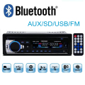 Novo 12 V do bluetooth Rádio do carro do bluetooth estéreo do carro MP3 Player De Áudio Bluetooth USB SD MMC Porto Car Electronics In Dash um DIN tamanho