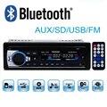 Nueva 12 V bluetooth Radio de coche bluetooth estéreo del coche MP3 Reproductor de Audio Bluetooth USB SD MMC Puerto de la Electrónica Del Coche En El Tablero uno DIN tamaño