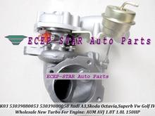 K03 053 058 53039880053 53039880058 Turbo Turbocharger For AUDI A3 For SKODA Octavia Superb VW Golf IV 1.8T AUM AVJ AWT ARX ARZ