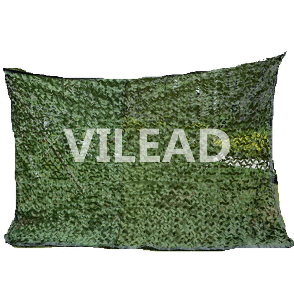 VILEAD 3.5M*7M Camo Netting Green Camouflage Netting Filet Camo Net Outdoor Sun Shade Theme Party Decoration Hanger Decoration vilead 9 colors 3m 10m camouflage netting reusable camo net for hunting camping sun shade party decoration outside sun shade