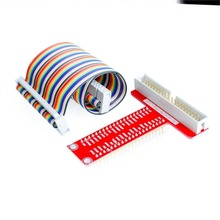 Raspberry Pi B+ accessories raspberry pie type T GPIO expansion board + Raspberry pie 40P cable