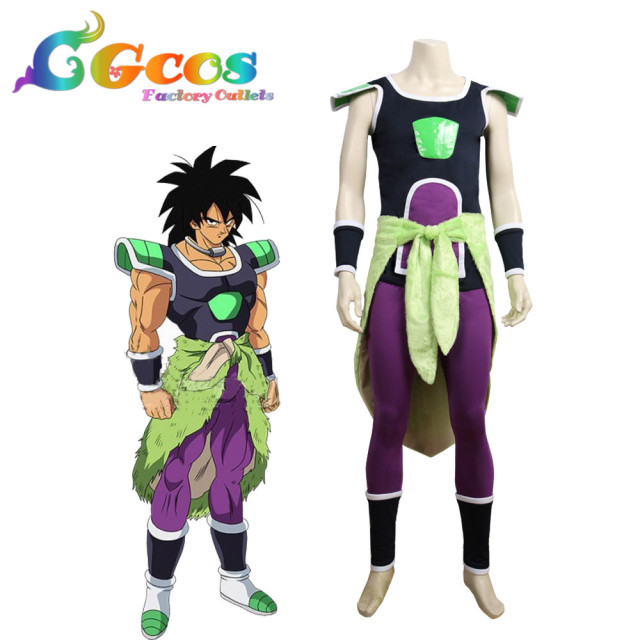 CGCOS Cosplay Costume Dragon Ball Super: Broly Broly Anime