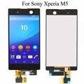 Для Sony Xperia M5 E5603 E5606 E5653 ЖК-Дисплей с Сенсорным Экраном с дигитайзер Ассамблеи + Клей + Инструменты, бесплатная доставка