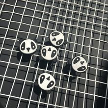 100pcs Cartoon panda Tennis racket Vibration Damper Absorber /tennis racquets shock absorber