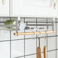 A1 Non porous household seasoning creative wrought iron kitchen utensils rack storage rack hook wx7021110