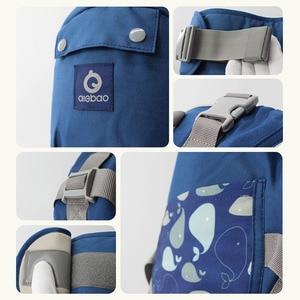Image 5 - Ergonomic Baby Carrier Infant Baby Hipseat Waist Carrier Front Facing Ergonomic Kangaroo Sling for Baby Travel 0 36M 20KG