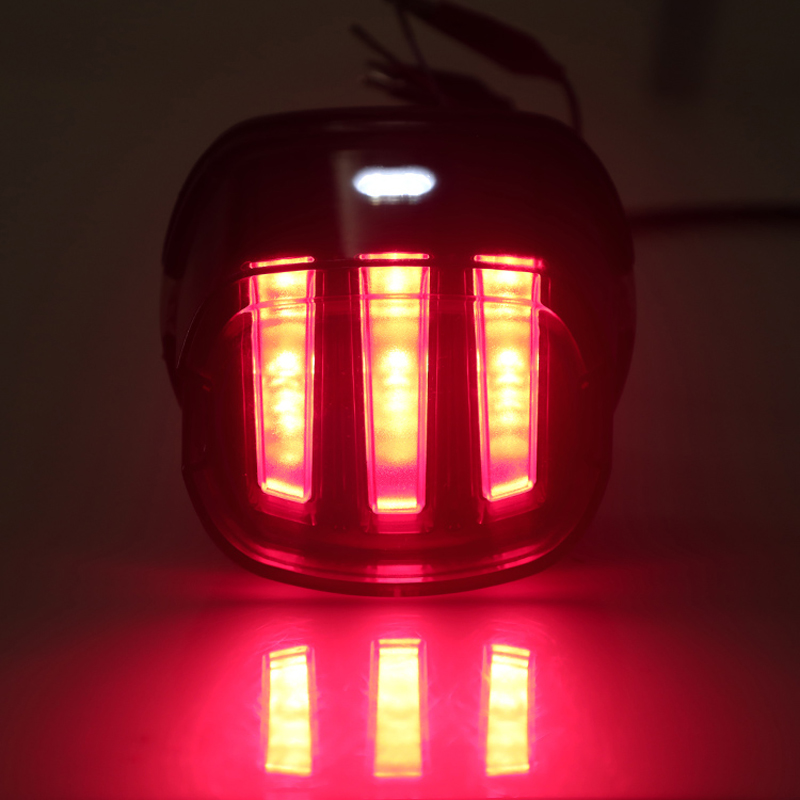 Image 3 - Motorcycle Tail Light Eagle Claw led tail light Motorcycle rear license plate lamp brake lamp for Harley