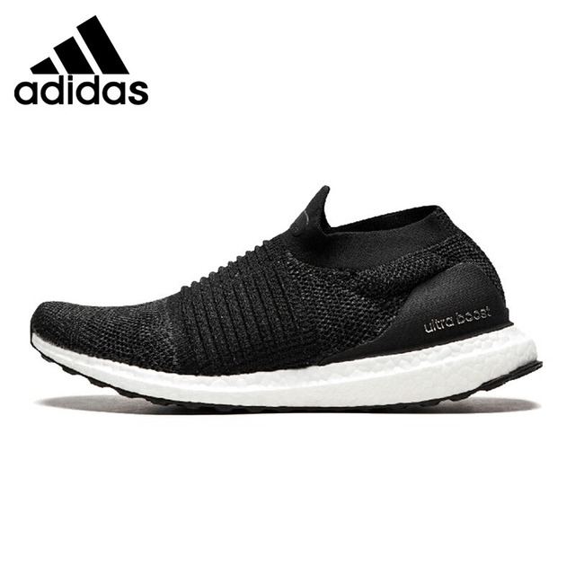 reputable site e9381 3e1bd Original New Arrival 2019 Adidas UltraBOOST LACELESS Unisex Running Shoes  Sneakers Outdoor Sports Cushioning Breathable BB6311