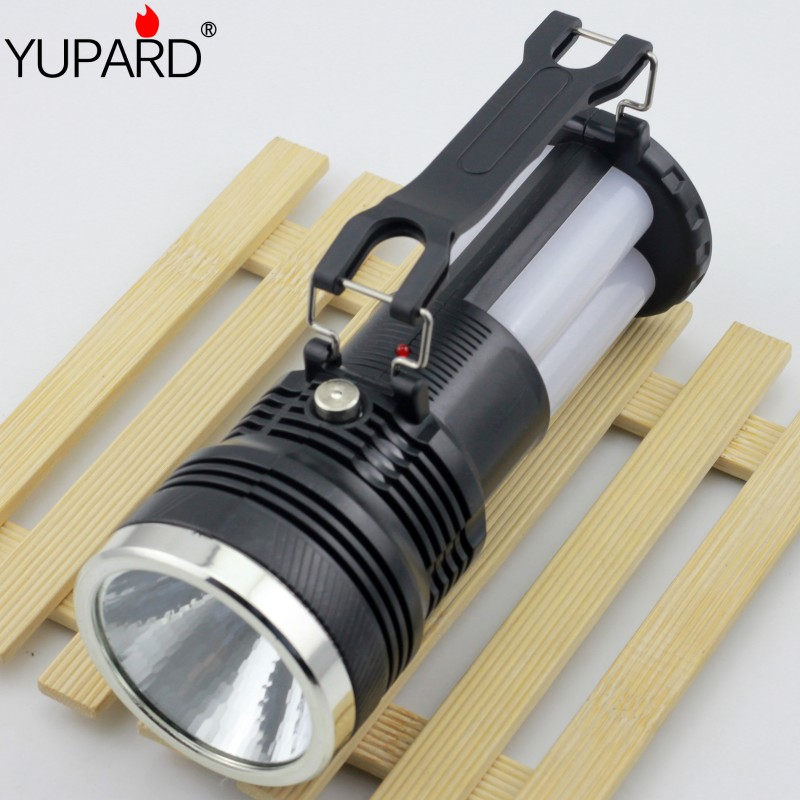 YUPARD 3 in 1 led rechargeable camping lantern multifunction tent portable lanterns abs solar lantern for camping light new multifunction rechargeable led camping light lanterns solar powered fan outdoor portable lanterns solar tent light lam lamp
