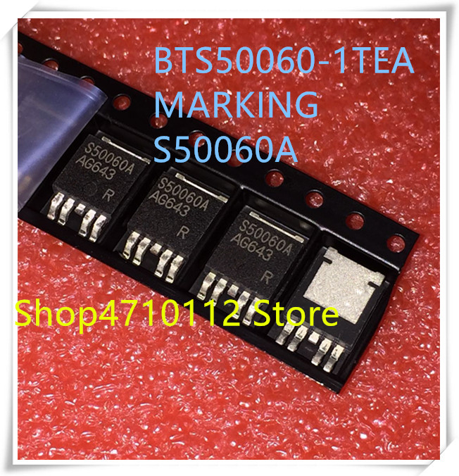 NEW 10PCS/LOT BTS50060-1TEA BTS50060 BTS50060A S50060A TO-252-4 IC