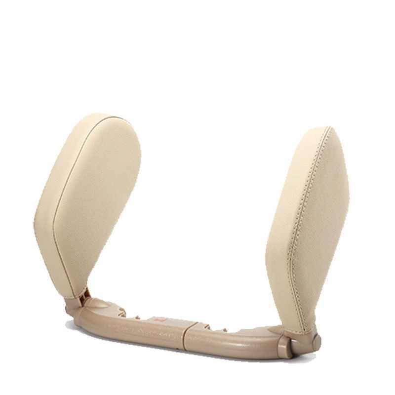Araba deri seyahat yastık koltuk kafalık boyun güvenlik desteği otomatik teknolojisi dinlenme uyku ürünleri evrensel bmw ford için odak