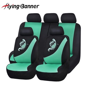 Image 4 - High Quality Pink Color Car Seat Cover Universal Fit Most Cars And Butterfly Printing Breathable Sandwich Cloth