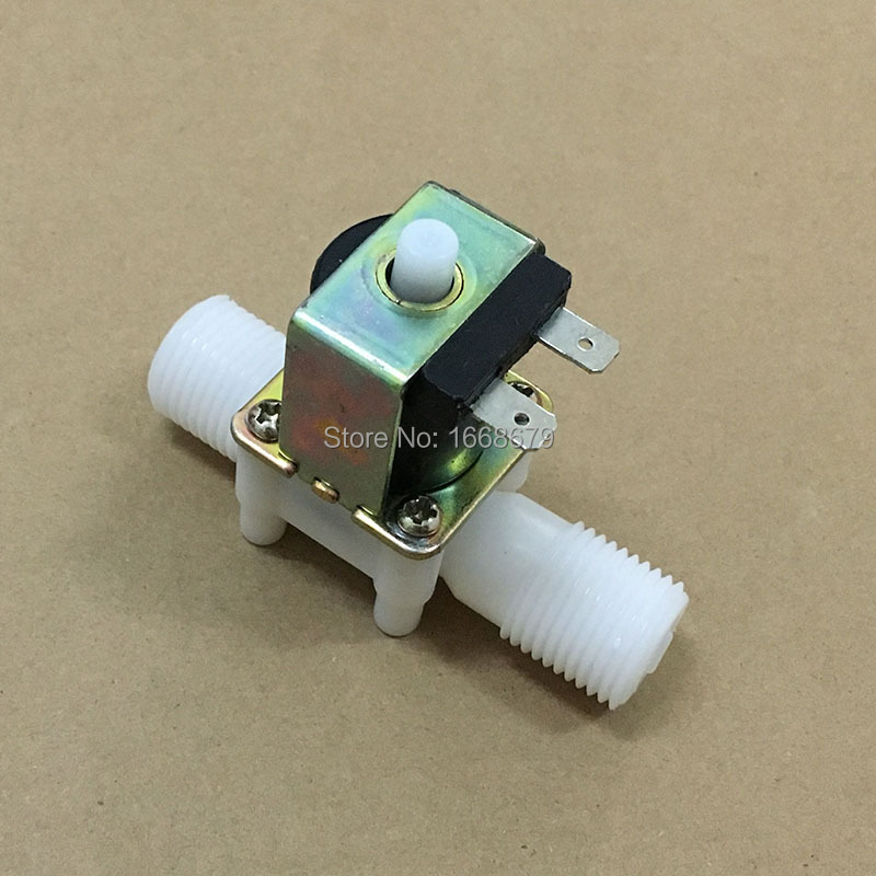 EBOWAN New DC 12v 24V Normally Open Valve Solenoid Electric Water Control Valve 1 2 39 39 N O in Valve from Home Improvement