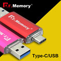 Type-c USB Flash Drive OTG usb flash мини usb металла 3.0 8 ГБ 16 ГБ 32 ГБ типа с otg u stick мемори стик pendrive 64 ГБ flash диск