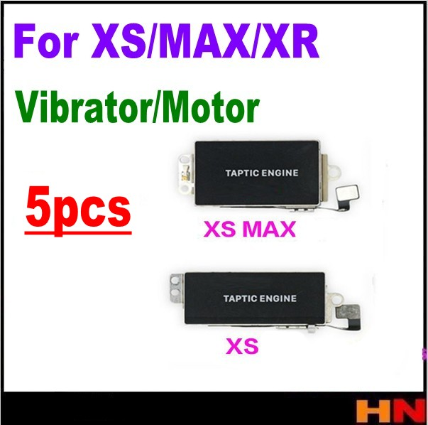 5pcs wholesale for iphone XS MAX XR xs Spare Vibra