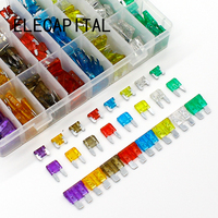 New Micro Mini Standard 480pcs Auto Automotive Car Boat Truck Blade Fuse Box Assortment 3A 5A