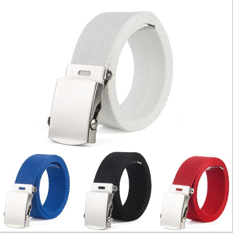 children High Quality Canvas   Belt   Men Women Jeans   Belt   Top Casual Luxury Strap   Belts   Boys and girls Jeans Waist   Belts   Cummerbund