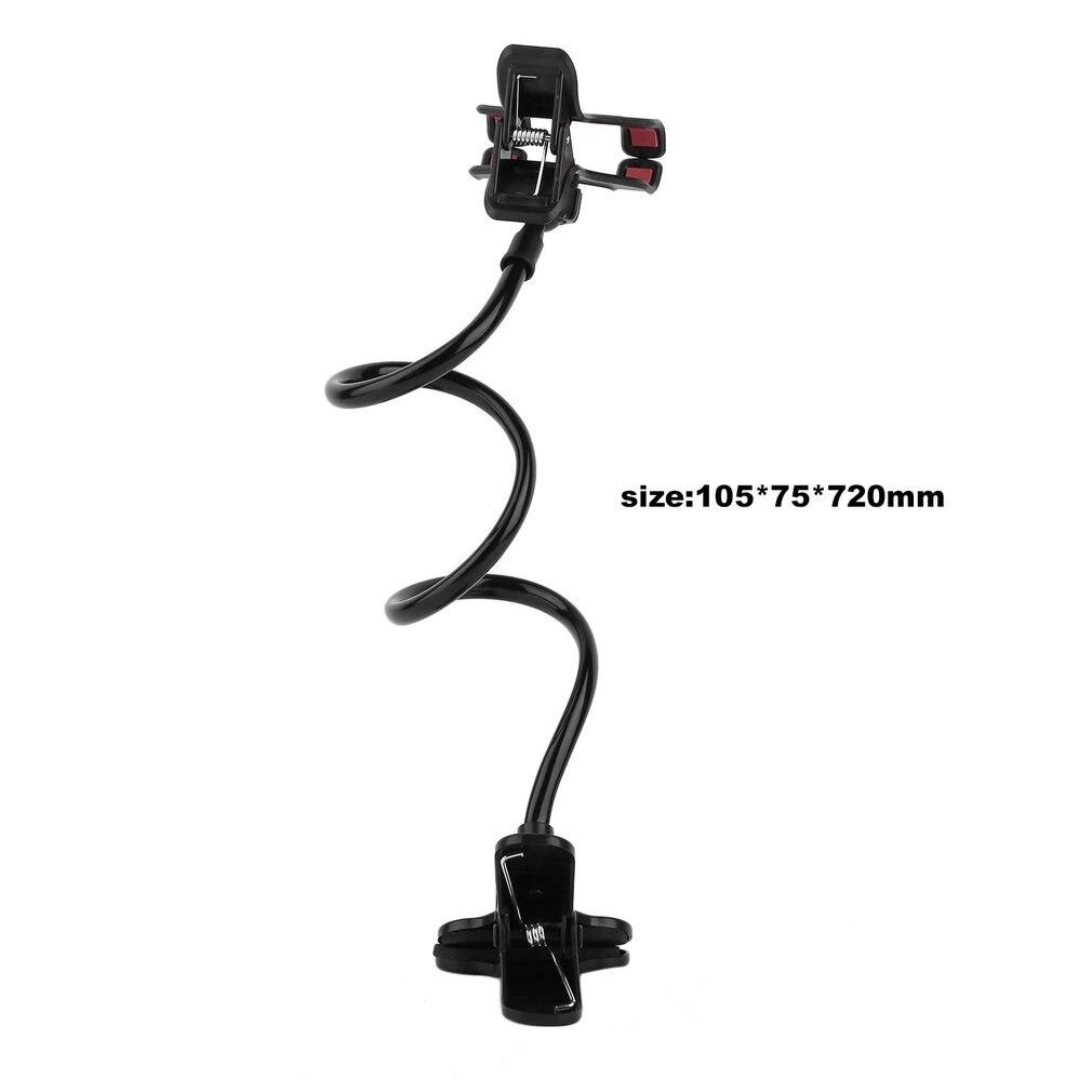 Lazy Shelf Bedside Mobile Phone Holder Clip For Smart Phone Adjustable Stand Holder Desk Long Bending Foldable Support JLRJ88
