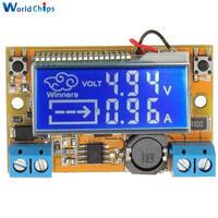 Liquid Crystal Displays DC DC Step Down Buck Converter Power Supply Adjustable Push Button Module With