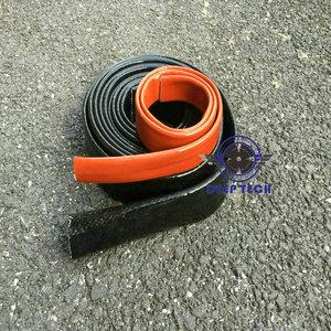 Image 5 - 3/4 inch X 3ft Zwart Vulcan Fire Mouwen Glasvezel Gevlochten Vlam Shield Firesleeving Hitteschild Voor Motor Slang
