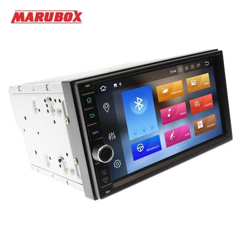 MARUBOX 706PX5-DSP Head Unit Universal 2 Din Octa Core Android 8.0, 4GB RAM, 32GB,GPS Navigation,Stereo Radio,Bluetooth,NO DVD