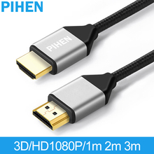 PIHEN 4K  HDMI Cable 2.0 HDMI to HDMI Video Audio Cable USB Extension Cable for TV Projector TV Box Xbox 3D Full HD Effect