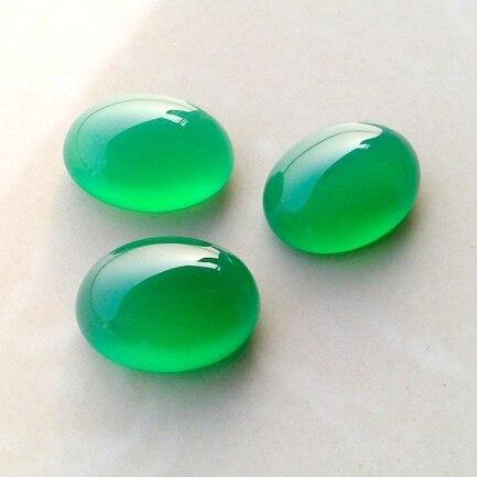 """Natural ovoïde 13x18mm Vert Beryl Gems Ovale Perles Collier 18/"""" AA"""