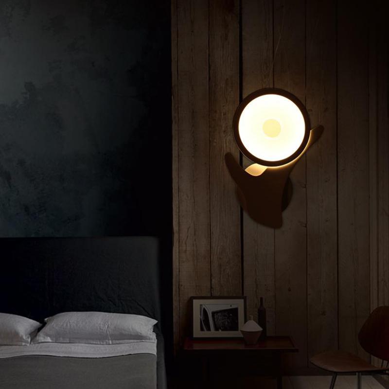modern minimalist led wall idea light the living room warm a