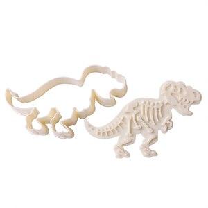 Набор форм для печенья в виде динозавра HOURONG, 3 шт./компл.